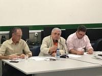 A reunião foi realizada nesta terça-feira (15) no turno da tarde