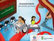 No mês da luta das pessoas com deficiência, IFPB dá ênfase a divulgação de ações de acessibilidade