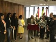 Documento foi assinado pelo reitor Nicácio Lopes e o desembargador Eduardo Sérgio. Projeto de adaptação já foi concluído pela Diretoria de Obras