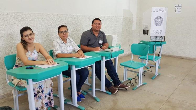 Dois candidatos estão na disputa no segundo turno: Eliezer Siqueira e Chiquinho Cicupira.