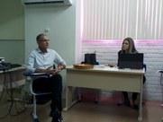Discussões acontecem no auditório da Proexc