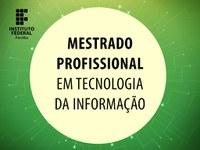 Curso será ministrado no Campus João Pessoa. Inscrições de 24/12 a 30/01