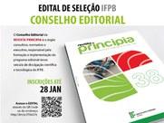 Podem se inscrever pesquisadores doutores internos e externos ao IFPB