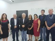 Encontro com o ministro astronauta Marcos Pontes.
