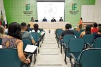 A reunião aconteceu nesta sexta-feira, no auditório da Reitoria