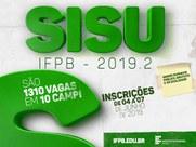 São 1.310 vagas provenientes de 35 cursos em 10 campi do Estado da Paraíba
