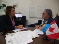 Principal pauta da reunião foi a divulgação de edital de intercâmbio para alunos dos cursos integrados do IFPB