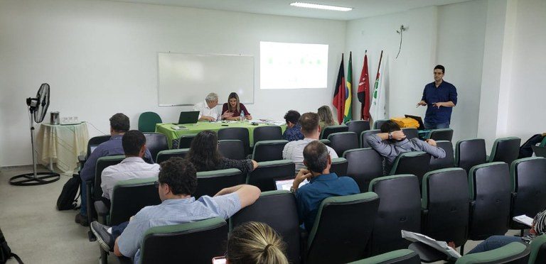 Participaram da reunião do IFPB, o Reitor, Pró-Reitores e Diretores-Gerais dos campi para compartilharem experiências e buscarem soluções consensuais