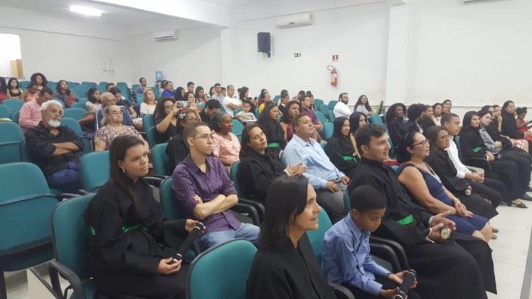 Esta é a quarta turma formada pelo curso, que é ofertado no Campus Mangabeira.