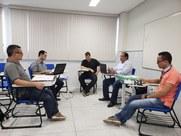 Visita técnica objetiva acompanhar as ações desenvolvidas na área administrativa