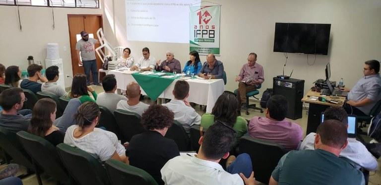 Comunidade acadêmica interage com a equipe gestora do IFPB nas cidades de Itaporanga, Princesa Isabel e Monteiro