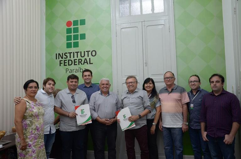 As obras contemplam uma biblioteca no Campus Sousa e ampliação do Campus Santa Luzia
