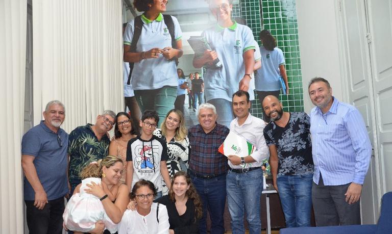 Na acolhida, o reitor Nicácio Lopes enfatizou as oportunidades e as perspectivas de conhecimento que os novos professores irão encontrar no IFPB