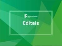 Matrizes são referentes a cursos técnicos integrados. Inscrições 17/02 a 13/03
