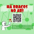 Há Braços pode ser acessado via whatsapp por estudantes