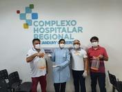 Equipamento de Proteção Individual irá beneficiar a rede hospitalar local