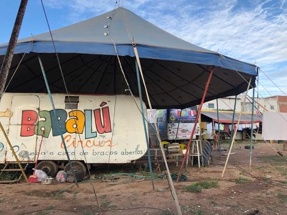 Circos instalados no Sertão recebem ajuda do IFPB Solidário