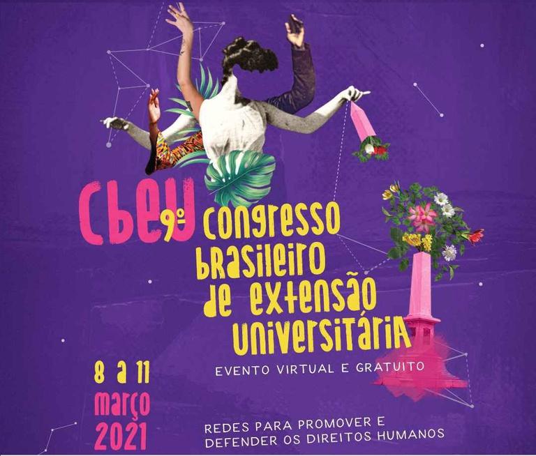 Maior encontro de extensão universitária do Brasil começa nesta segunda-feira (08) de forma virtual