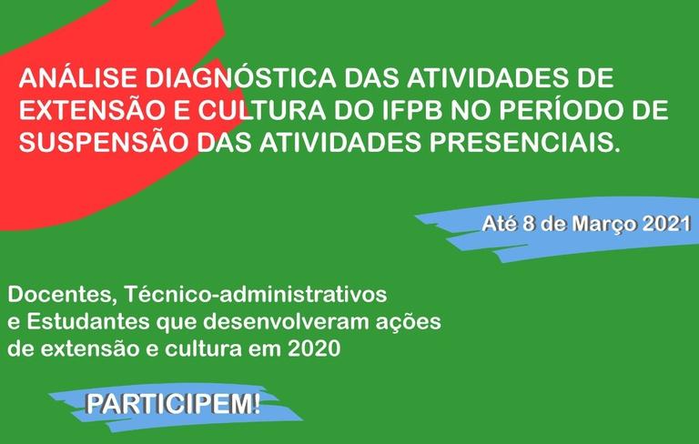 Formulário é voltado a extensionistas que atuaram no período de suspensão das atividades presenciais em 2020