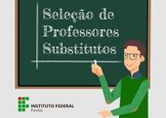 Oportunidades nos campi Cabedelo, Cajazeiras, Monteiro, Princesa Isabel e Patos