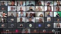 A cerimônia virtual foi transmitida pela TV IFPB no YouTube