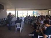 Alunos, professores, egressos e representantes do SEBRAE, do CREA, do DER e da SUPLAN participaram do evento. Programação ocorreu nos dias 19 e 20
