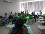 Professores do Campus Patos participaram de oficina de Montagem de Salas de Aulas Virtuais no Moodle.