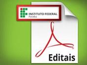 Publicado Edital nº 25/2018-DDE de Jubilamento do Curso Superior em Segurança no Trabalho.
