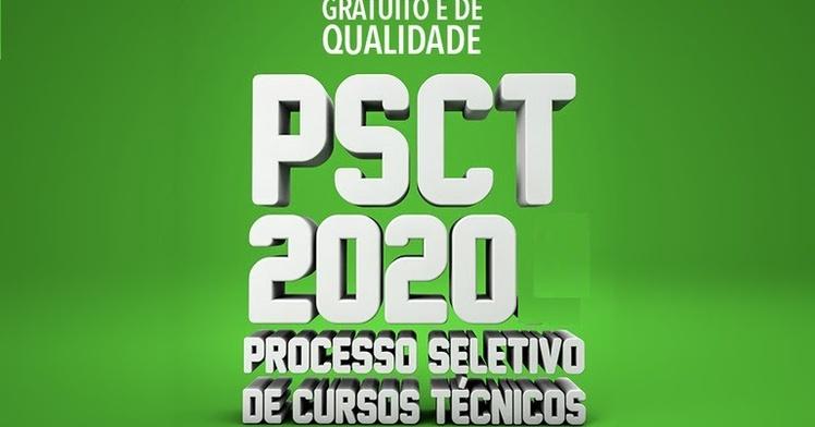 Processo Seletivo dos Cursos Técnicos (PSCT/2020.2) do IFPB