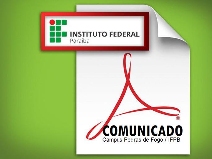 Os candidatos inscritos para os cursos FIC do Campus Pedras de Fogo estão pré-classificados, veja abaixo mais detalhes