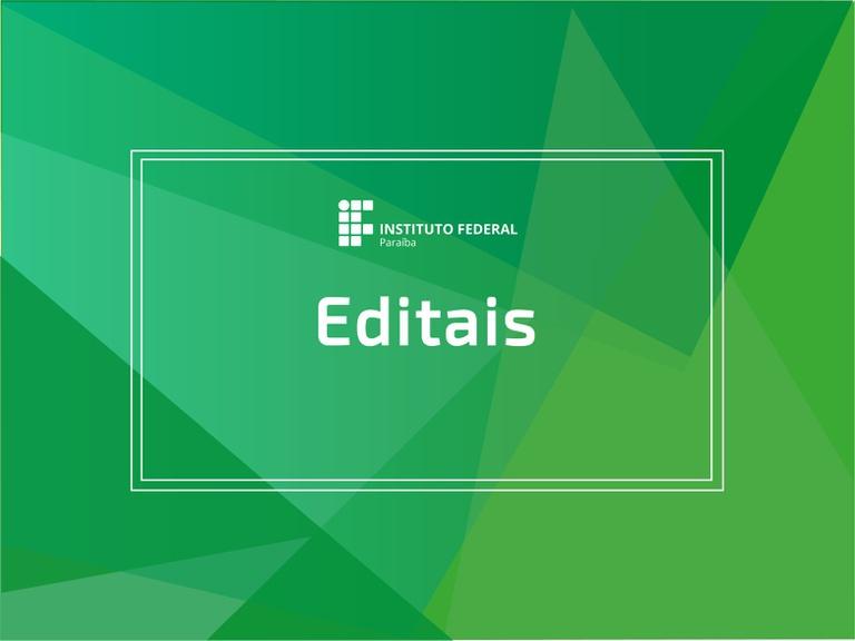 Edital de reconvocação - tec. informática 2021