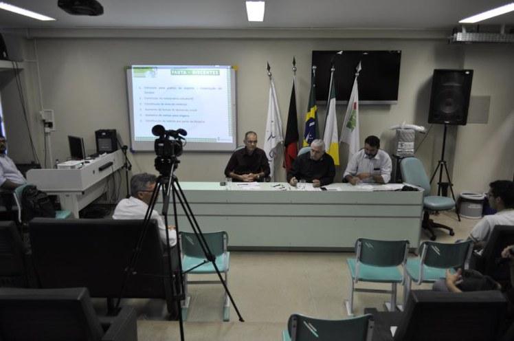 Discussão das demandas dos alunos