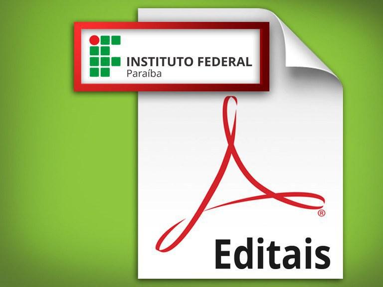Edital 01/2019 é valido para os alunos veteranos do campus para o período 2019.1