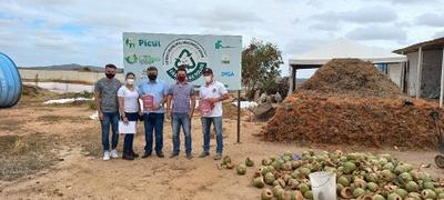 O objetivo foi conhecer o Projeto Fábrica de Solos, desenvolvido entre a Prefeitura de Picuí e o IFPB