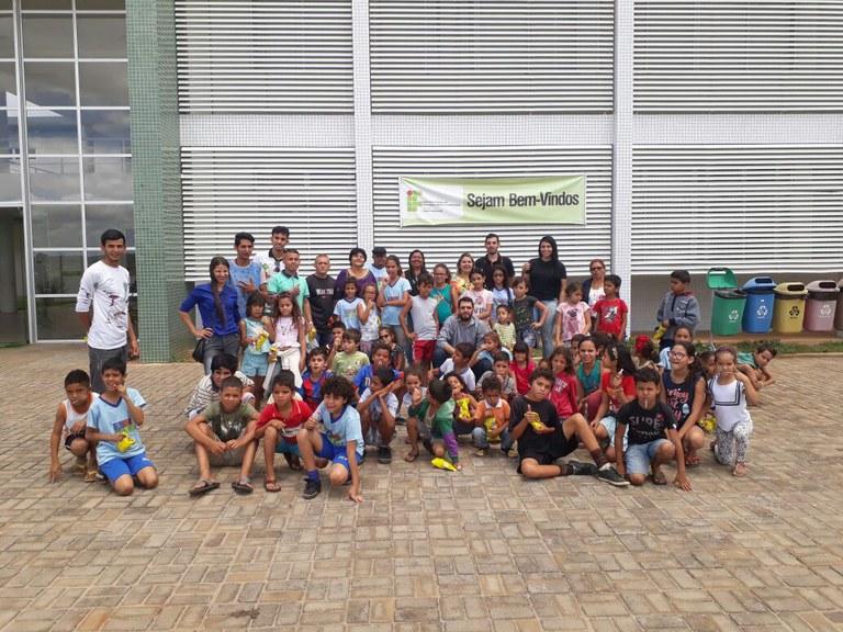 Visita do Programa Serviço de Convivência e Fortalecimento de Vínculos do Município de Princesa Isabel-PB