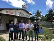 Representantes do IFPB dos Campi Patos e Princesa Isabel visitaram o Projeto Casa Ecoeficiente do SENAI Campina Grande - PB