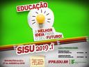 SISU 2019 - IFPB Princesa Isabel