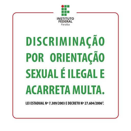 Cartaz contra homofobia