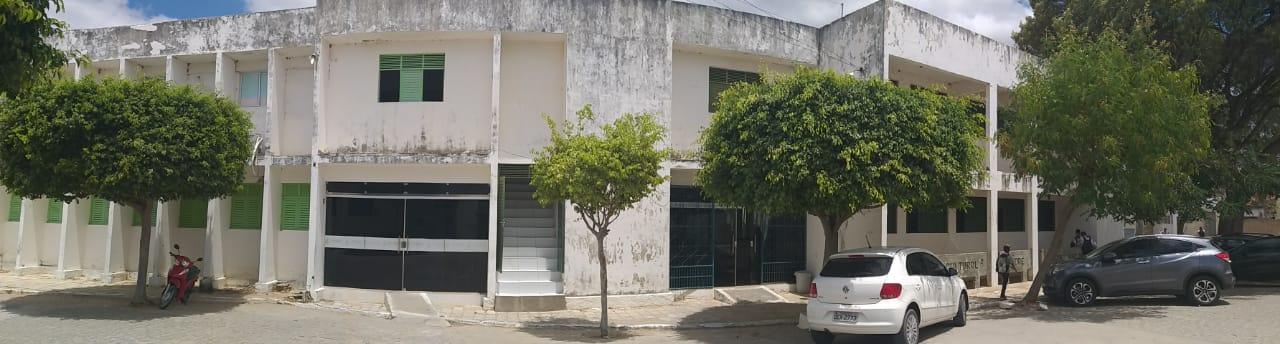 Sede provisória do Campus Santa Luzia