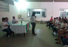Aula inaugural do Curso de Formação continuada JOVEM PROFISSIONAL CIDADÃO – ENEM do campus Santa Rita