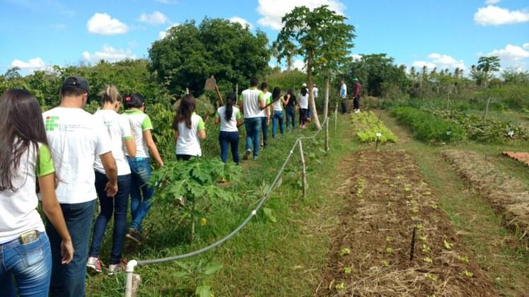Alunos do 2º ano do curso de Meio Ambiente participaram de capacitação no Serta, em Pernambuco