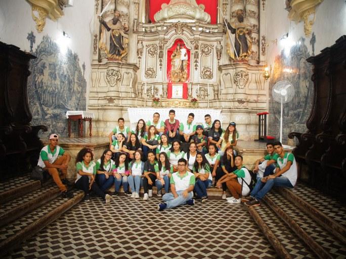 Objetivo da visita foi ampliar o conhecimento sobre a história da Igreja e de suas ordens no Brasil e na Paraíba