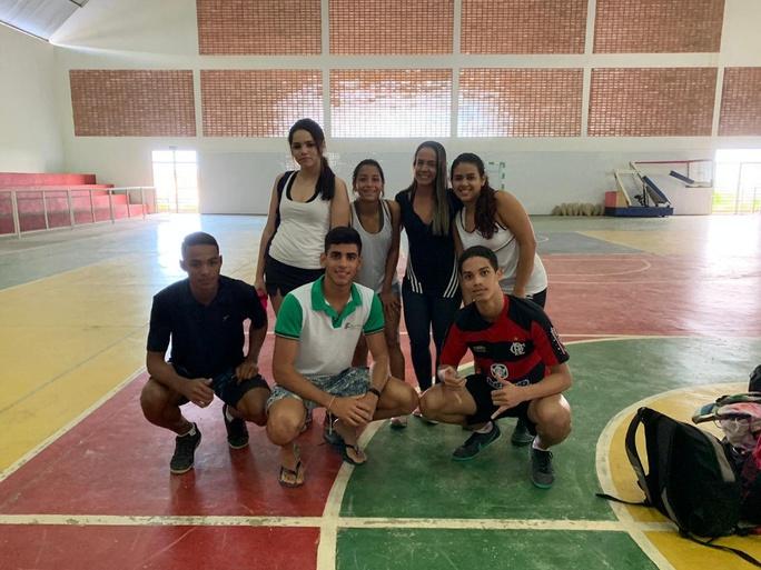 Foram selecionados atletas para as modalidades Futsal masculino e Handebol feminino.