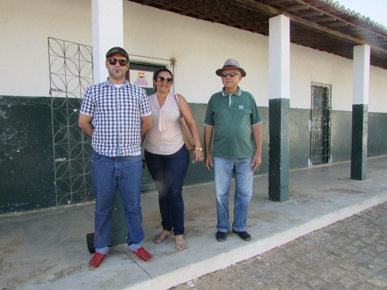 Visita ao Centro de Convivência em Soledade