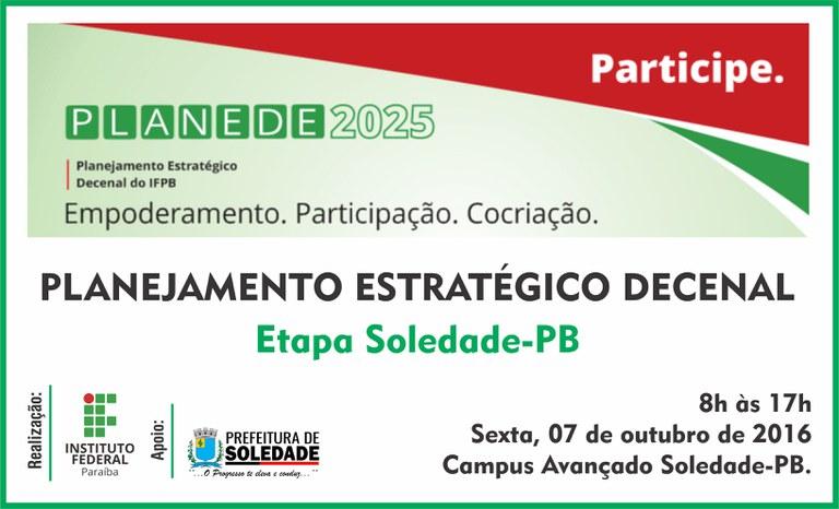 PLANEDE - Campus Soledade