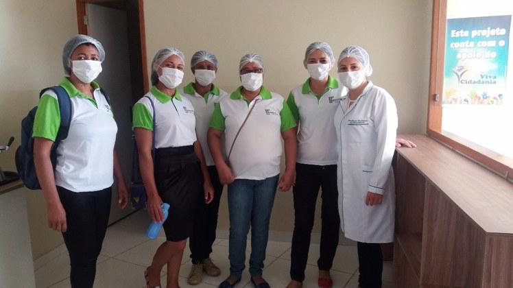 Visita foi realizada pelos alunos do curso FIC de Manipulação de Alimentos