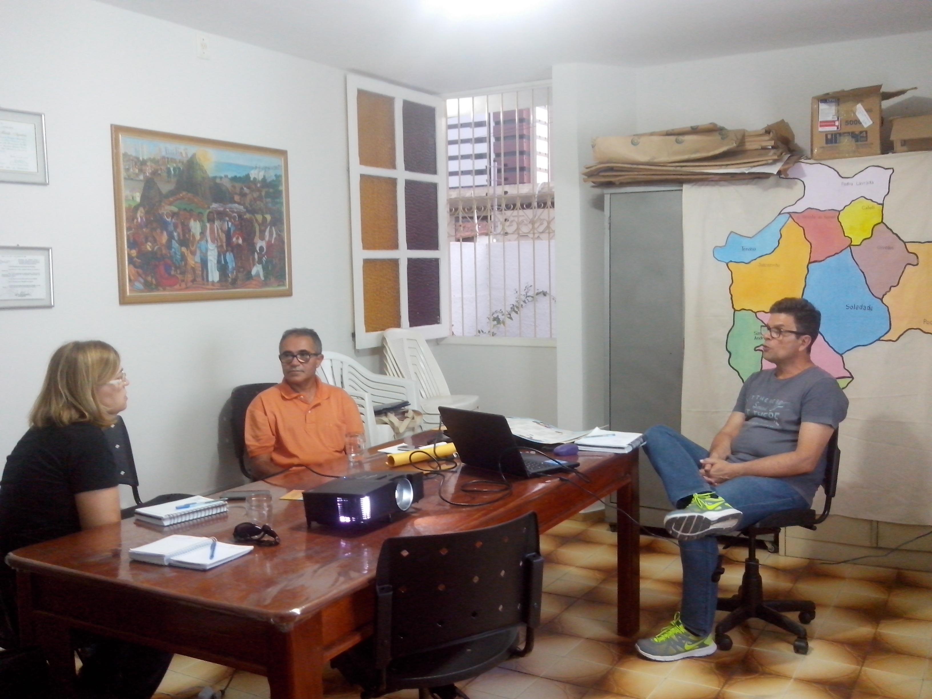 Reunião IFPB Soledade e PATAC