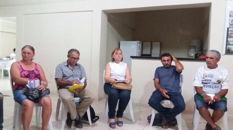 Reunião aconteceu no dia 09 de novembro no Sindicato dos Trabalhadores Rurais de Soledade.
