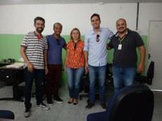 Equipe da Academia Cisco em Soledade