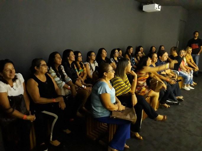 A atividade foi desenvolvida com estudantes  de curso FIC em Tecnologias Educativas
